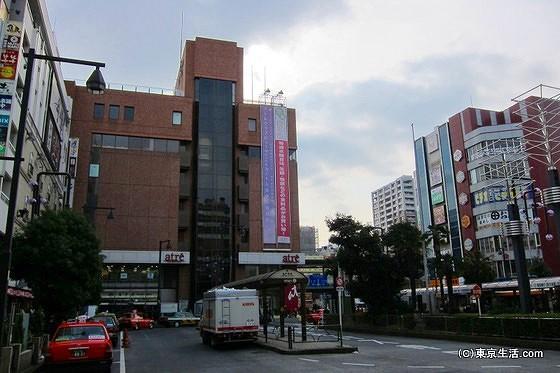 亀戸駅の駅前ロータリー