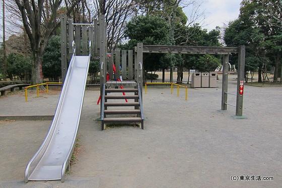 亀戸中央公園で遊ぶ