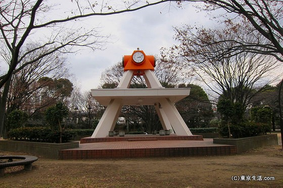 亀戸中央公園の時計台