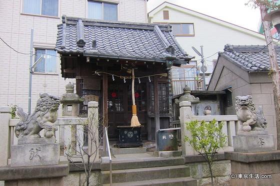 亀戸水神の社