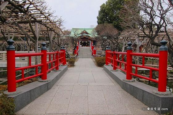 太宰府天満宮と似ている亀戸天神の太鼓橋