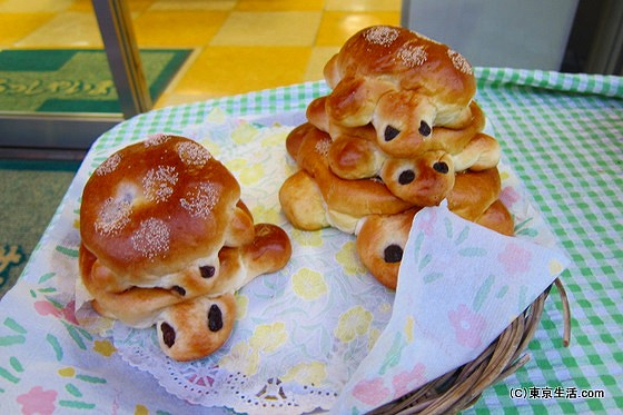 亀戸の亀パン