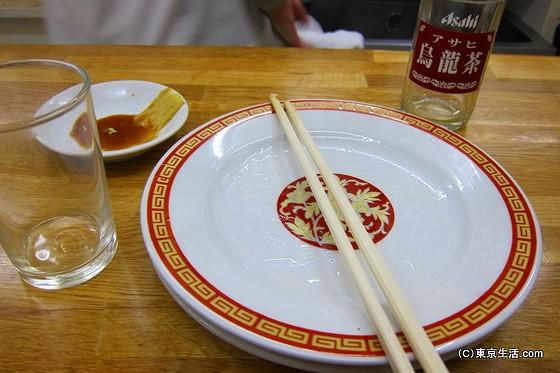 亀戸餃子を完食する