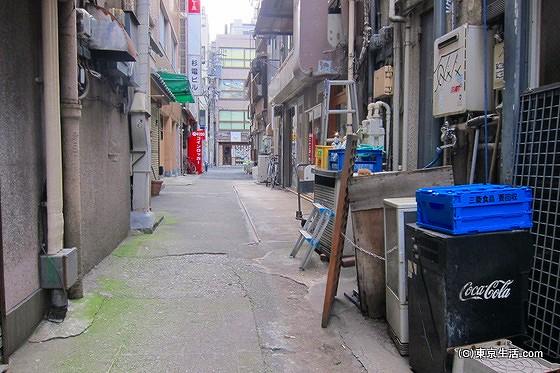 神田の裏道