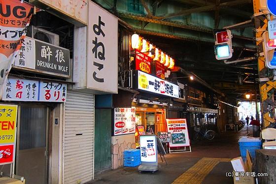 神田駅のガード下