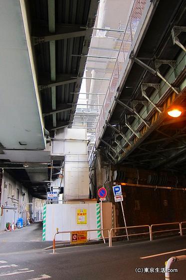 神田駅の高架下