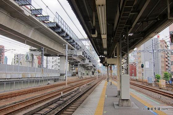 神田駅のホーム