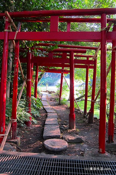 井の頭公園の稲荷神社