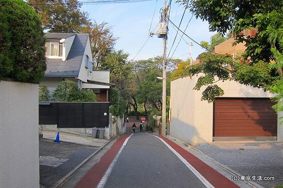 井の頭公園裏の住宅街