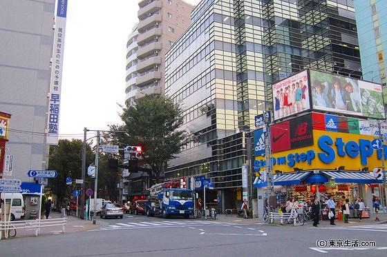 井の頭通りと吉祥寺通りとの交差点