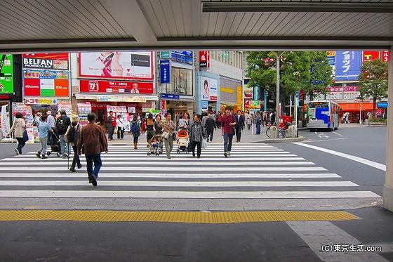 吉祥寺駅を出る