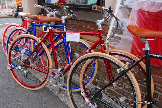 吉祥寺と自転車