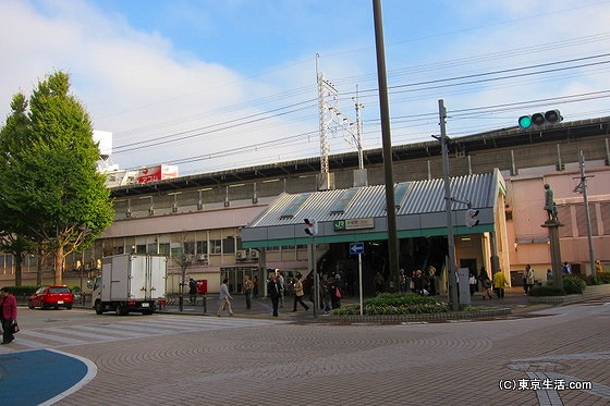小岩駅北口改札
