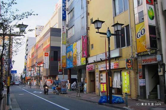 小岩中央通りの風俗街