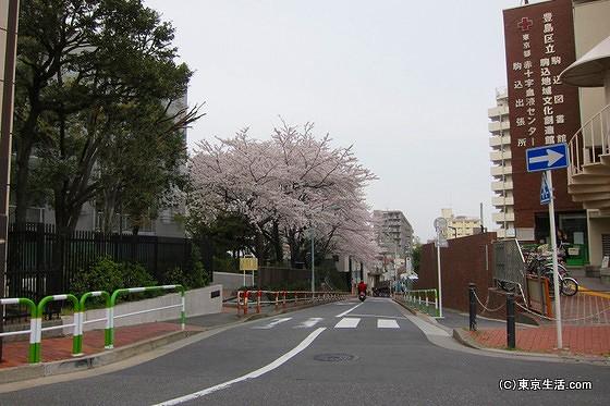 駒込の住宅街