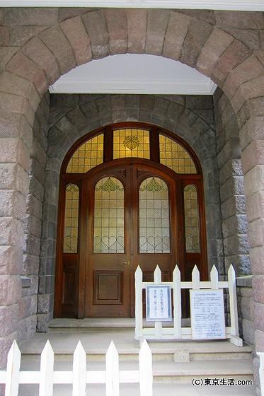 旧古河庭園の玄関