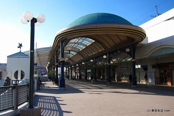 人がいない舞浜駅