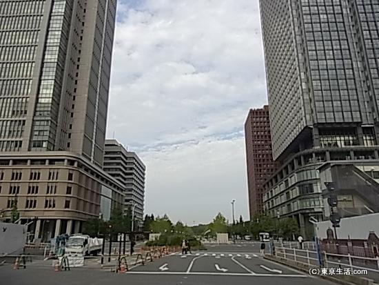 東京駅から皇居方面