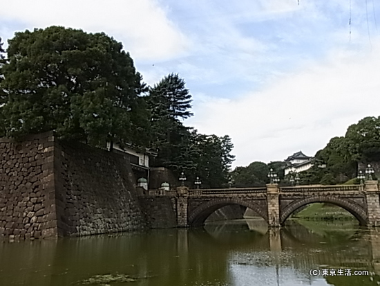 丸の内の散歩|ランニングが盛んな皇居を散歩するの画像