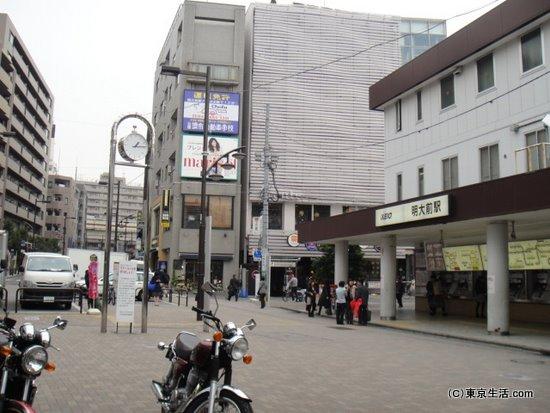 明大前駅前ロータリー