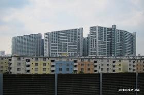 若松団地と巨大マンション|南船橋の住宅