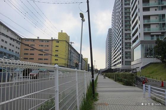 南船橋のマンション群