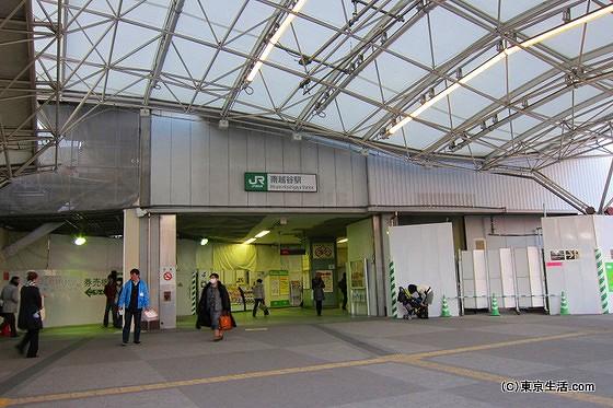武蔵野線の南越谷駅