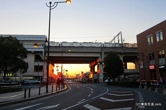 JR武蔵野線と東武伊勢崎線