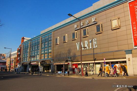 南越谷駅周辺|新越谷バリエと駅前ロータリーの画像
