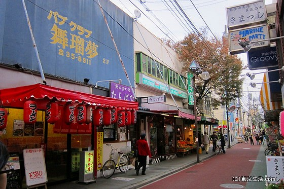 サイゼリアもある八幡一番街商店街
