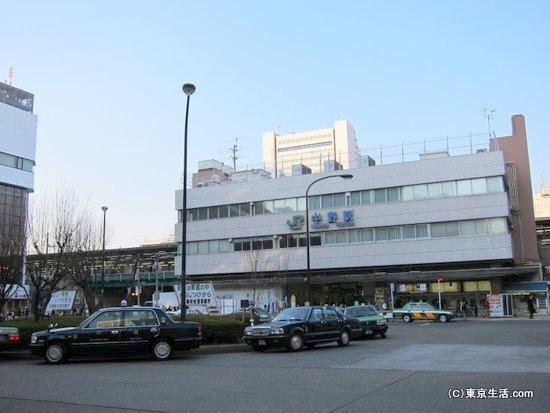 中野駅の南口
