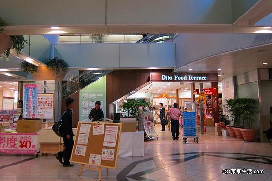 西船橋駅の駅ナカ
