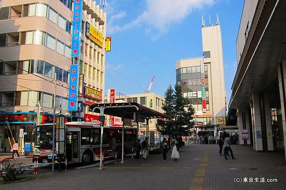 西荻窪駅のロータリー