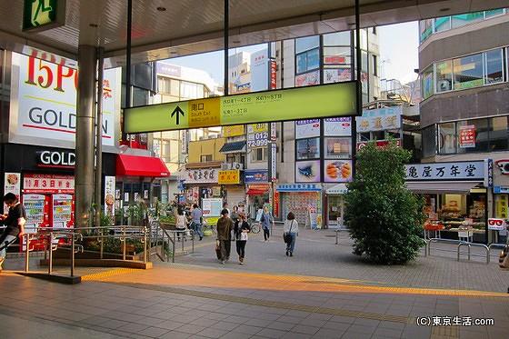 西荻窪駅の南口