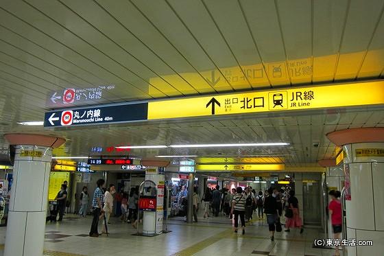 荻窪駅の乗り換え