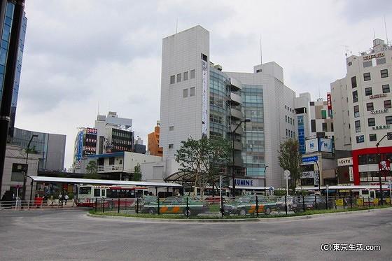 荻窪の駅前ロータリー