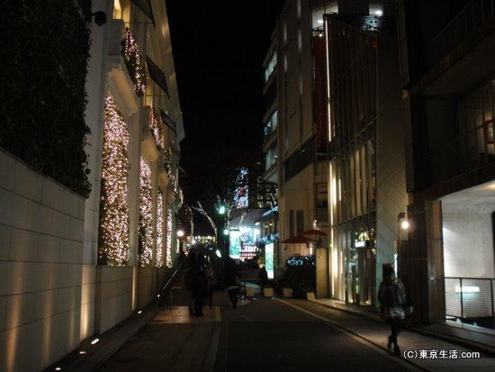 キャットストリートの夜景