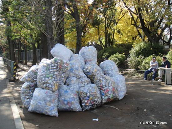 西戸山公園のホームレスさんと仕事結果