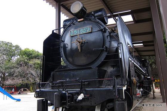 飛鳥山公園の機関車
