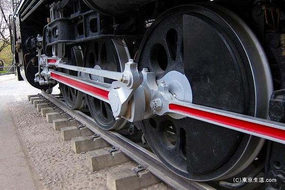 機関車の迫力