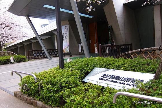 北区飛鳥山博物館。