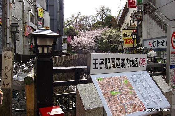 王子駅から音無親水公園へのアクセス