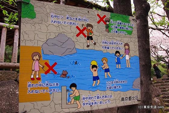 水遊びも出来る音無親水公園
