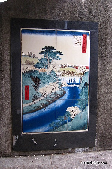 江戸時代からの桜の名所