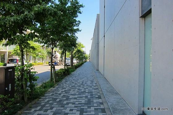コンクリート打ちっぱなしの安藤忠雄建築