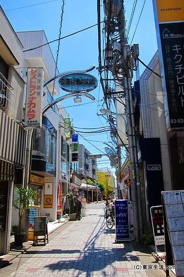 仙川の商店街