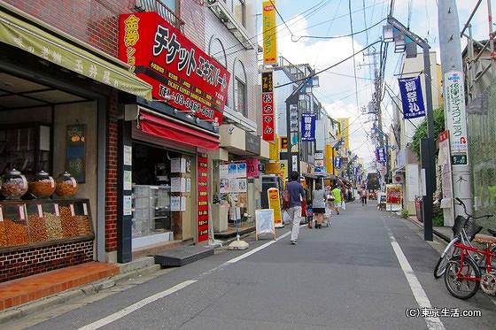 下北沢一番街商店街の街並み