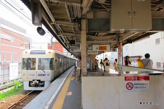 下北沢駅 京王井の頭線ホーム