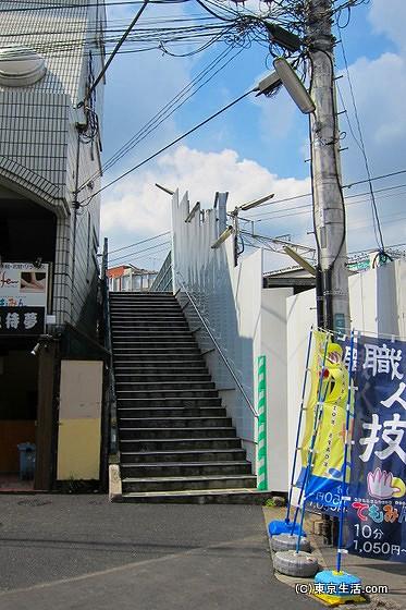 下北沢の歩道橋