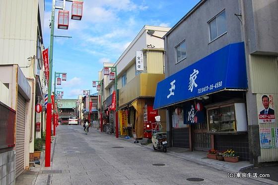 法華経寺の門前町
